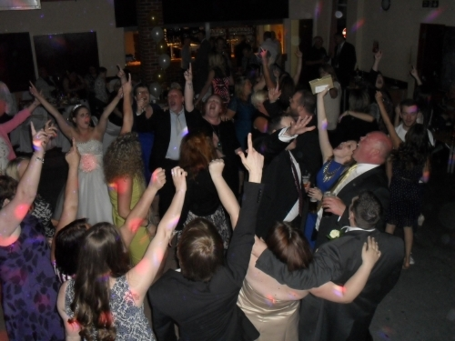 Great Party Atmosphere at this Essex wedding Reception