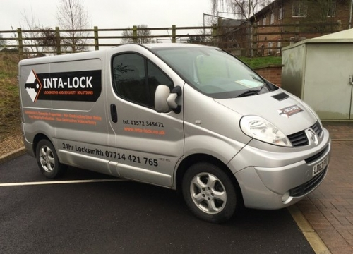 Inta Lock Locksmiths Van