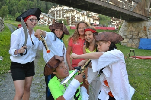 Themed evenings at Mountain Adventure Camps