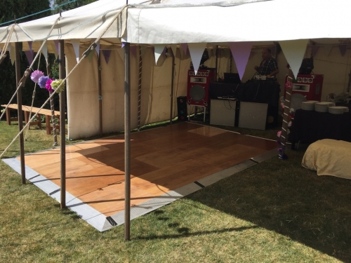 Wooden Interlocking Dance Floors