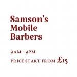 Samson's Mobile Barbers