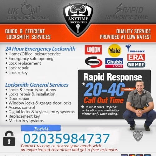 Anytime Locksmith Security