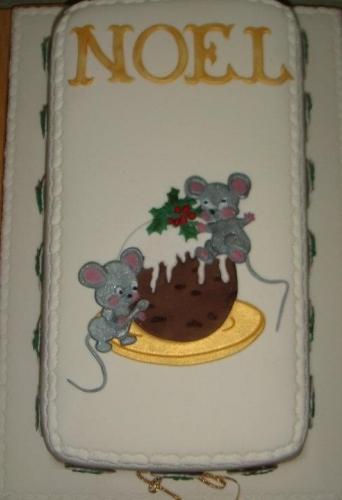 Christmas Pudding and Mice