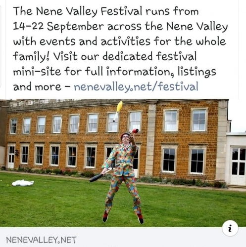 Nene Valley Festival Poster - they have hired me multiple times!