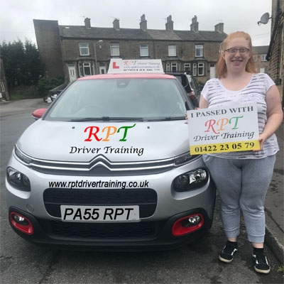 RPT Driver Training Driving Lessons Halifax Sasha Penny Ward