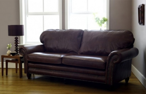 Cromwell Leather Sofa