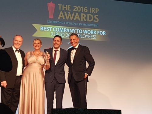 Think Global Recruitment wins REC's Best Company To Work For Award