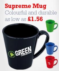 Supreme Mugs, our most popular printed mug