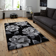 Black / Charcoal Rugs