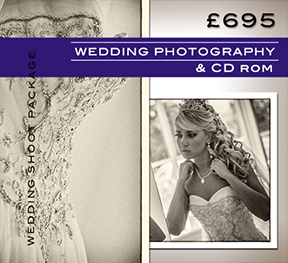 Wedding photography package with CD Rom