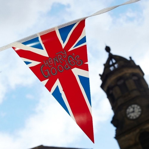 Henry Goodes Union Flag Bunting