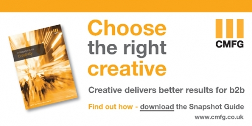 Want to choose the best creative? Download the guide at: http://cmfg.co.uk/content-download-guides/