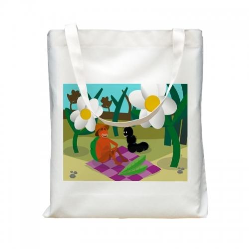 Shopping Bag Spring Picnic
