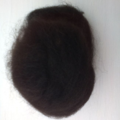 Black Alpaca Wool