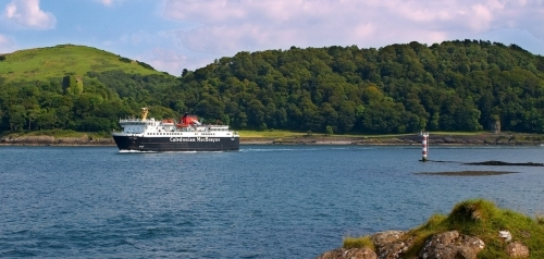 Caledonian Macbrayne Ferry Isle Of Mull