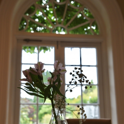 Fig Table Flowers