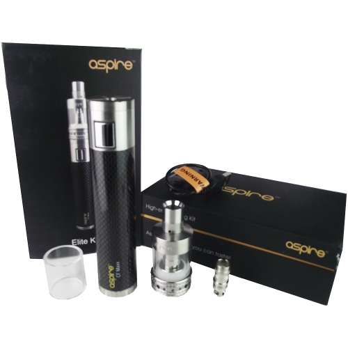 Aspire Elite Set (This is huge in size and for vapor)
