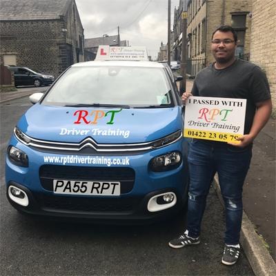RPT Driver Training Driving Lessons Halifax Aron Hendrickson