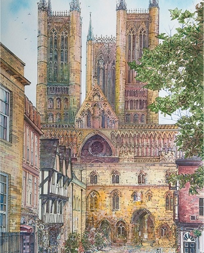 "Carl Paul ""Lincoln Cathedral"""
