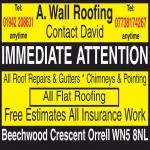 A Wall Roofing